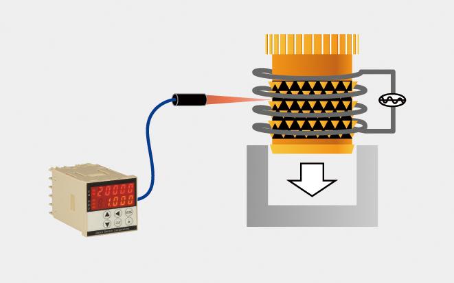 インサートナット圧入前の温度管理