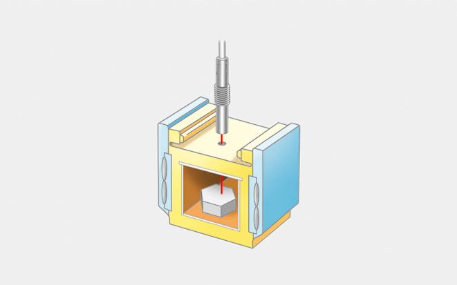 マイクロ波加熱のイメージ