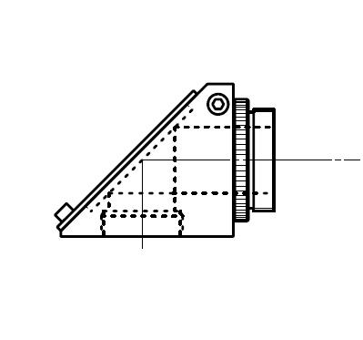 直角ミラー TML9-10の製品画像