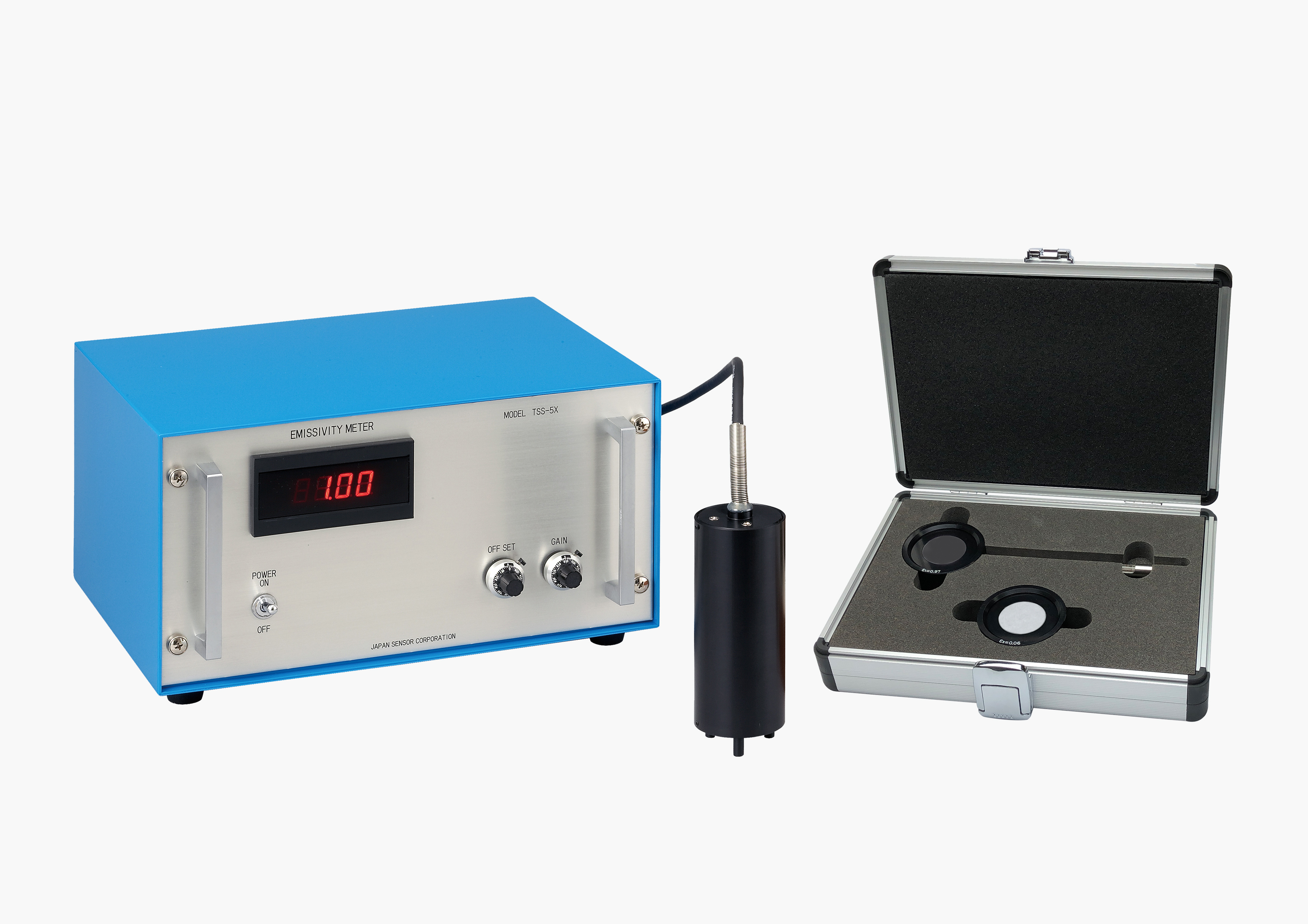 Emissivity meter TSS-5X